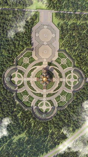 Храм ЗС РФ, вид зверху