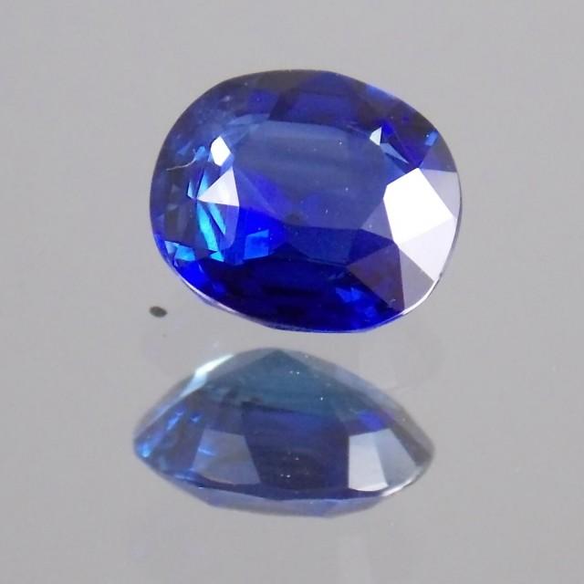 1720ct Cushion Cut Deep Blue Sapphire