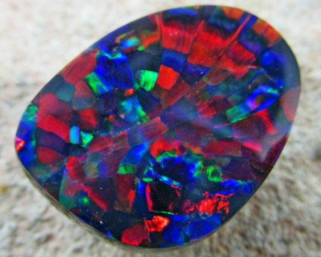 Learn About The Rare Harlequin Pattern Opal Opal Auctions