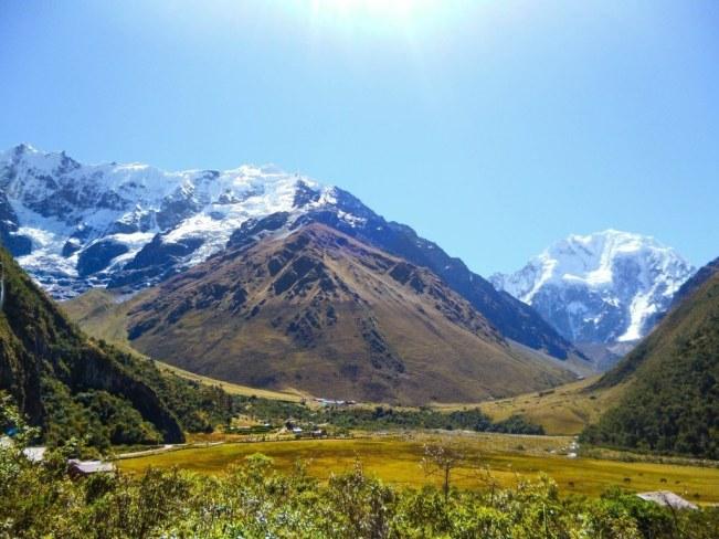 Der Berg Salkantay, von unserem Tourguide Washington aufgenommen