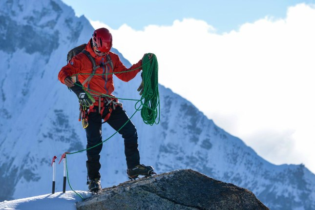 Victor Rimac, peruanischer Bergsteiger.