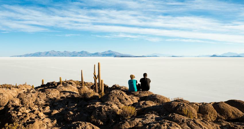 Auch in Uyuni soll Recycling in Bolivien natürlich vorangetrieben werden.