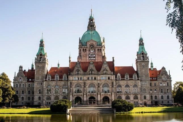Das neue Rathaus von Hannover. Bildquelle: Pixabay