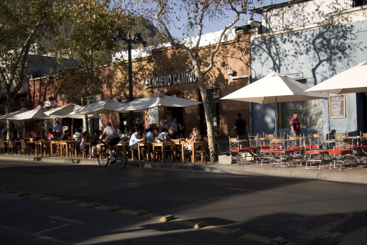 Santiago de Chile Sehenswürdigkeiten: Barrio Bellavista. Quelle: Flickr.