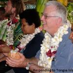 024. Responding to Tongoa Island Community welcome (Domingos Arrongear, Peter Woods, Jimmy Cocking, XX, Alfonse Adadika, Kieran Byrne