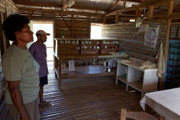 Catholic mission Aid post, Kiunga (Michael Maine)