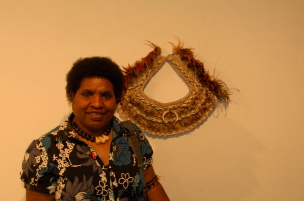 Vicki Kinai, Sampari art Exhibition 2015
