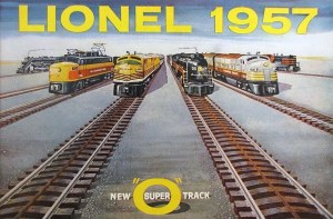 The 1957 catalog featured Lionel Super O track