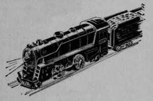 Marx 999 locomotive