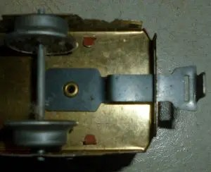Marx fixed tab and slot coupler