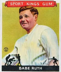 Goudey Babe Ruth cards
