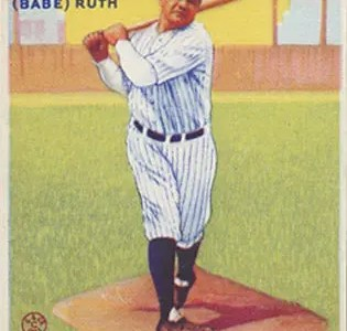 Goudey Babe Ruth cards
