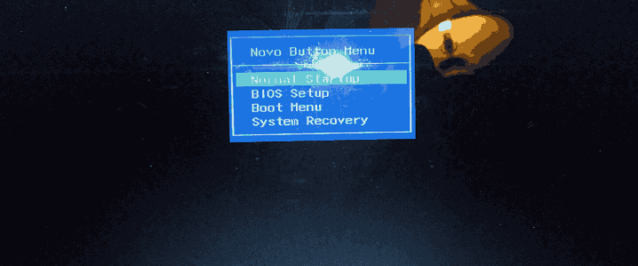 Boot a Lenovo Ideapad 100 from USB