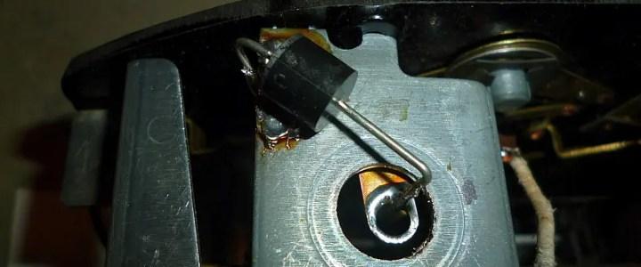 Lionel KW diode installation