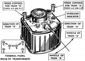 Lionel KW transformer