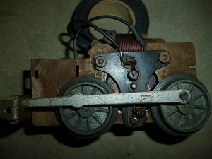 Wire a Marx motor without a reverse unit
