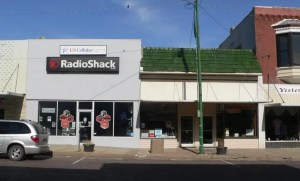 Radio Shack retail location in Nebraska