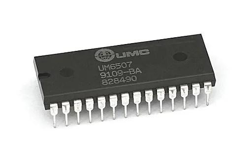 Atari 2600 CPU - UMC6507