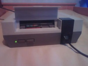 What is retro gaming? Something like this Nintendo NES.