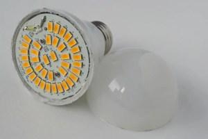 LED light bulbs don't break like other bulbs