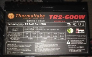 Reliable power supply brands: Thermaltake