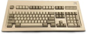 The IBM Model M is not a quiet mechanical keyboard