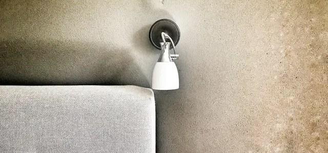 Change a wall light fixture