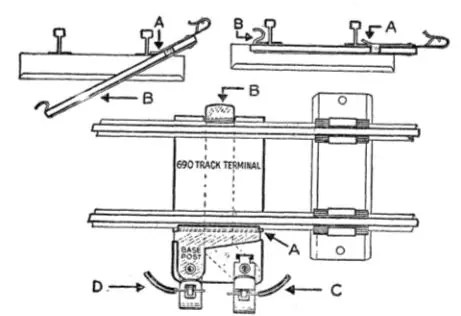 american american flyer track terminal - the silicon underground on american  auto wire diagrams, american flyer