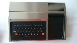 Computers in 1980 - TI-99/4