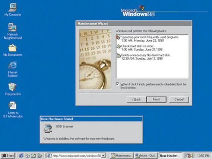 Windows 95 vs 98 - The Silicon Underground