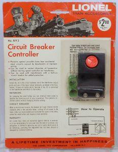 lionel 92 circuit breaker instructions