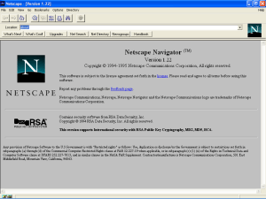 computers in the 1990s - Netscape