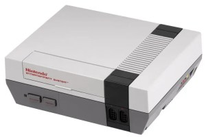 80s technology - Nintendo NES video game console