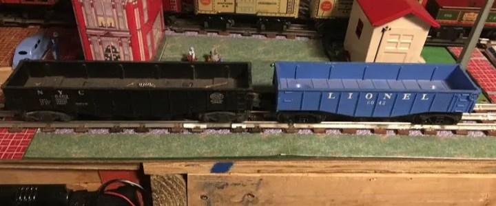 O gauge vs O27 gauge trains and track