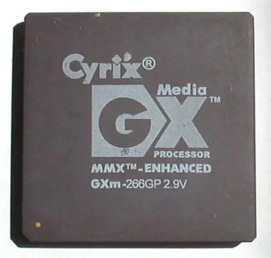 Cyrix processor: MediaGX