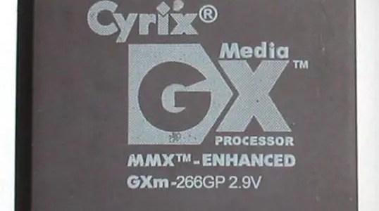 Cyrix processor chips: In memoriam