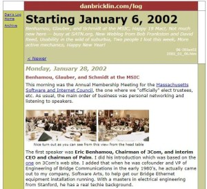 What is a blog used for?