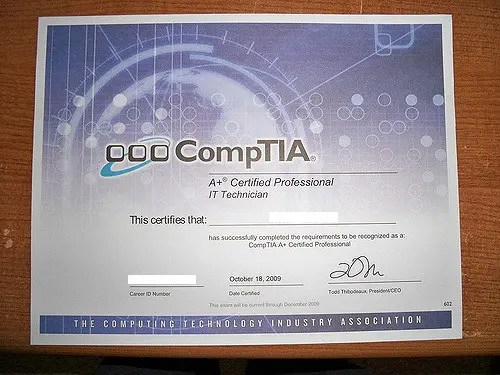 Best certifications to get - The Silicon Underground