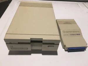Commodore 1581 drive c64 3.5 drive