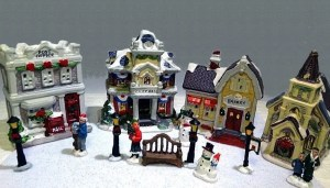 Dollar Tree Christmas village