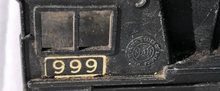 Marx 999 locomotive variations