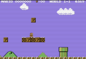Super Mario Bros Commodore 64 version