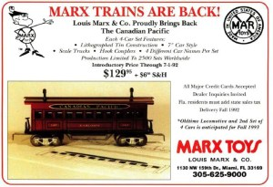 Marx Trains New Marx, or Ameritrains