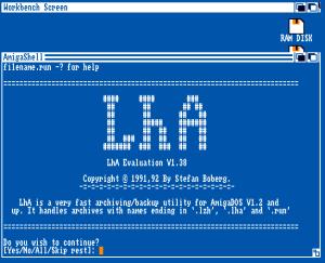 LHA file format