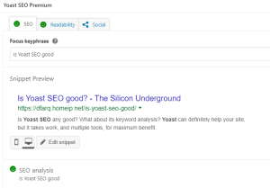 Is Yoast SEO good