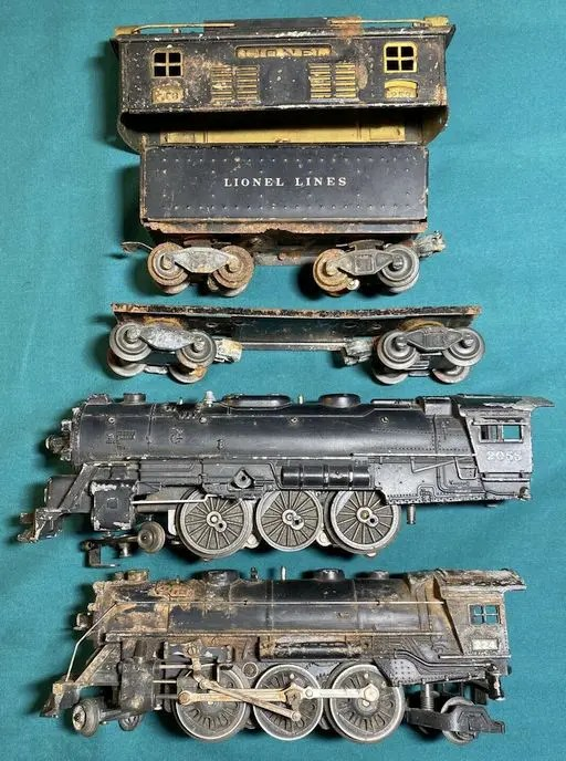 What can damage a Lionel train?