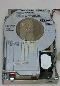 history of Western Digital hard drives