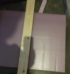 How to cut rigid foam insulation board