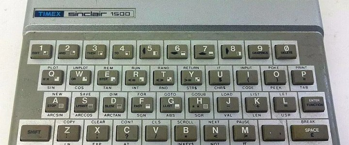Timex Sinclair 1500: The ZX81 in Spectrum clothing