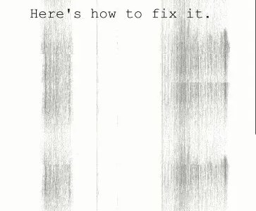 Laser printer streaks and how to fix them